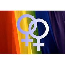 Lesbian Double Female Refrigerator Magnet Gay Pride