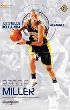 LIBRO BOOK N° 31 REGGIE MILLER LE STELLE DELLA NBA AI RAGGI X