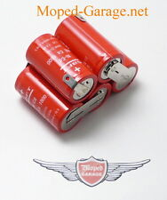 Zündapp GTS Ks C Cs Ulo Box Batteria Nicd Originale 1,2 - 1,9 Ah Motorino Kkr