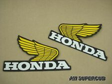 Honda XR XR200 XR250 XR350 XR500  Gas Tank Decal Sticker Wing  // pair L/R