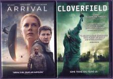 2 Dvd Sci-Fi Movie Lot: Arrival & Cloverfield
