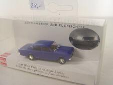 Opel Rekord mit Beleuchtung - Busch Auto HO Modell  1:87 -  5663   #E