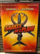 Snakes on a Plane (Dvd) Samuel L. Jackson, David R. Ellis, Action Packed! New!
