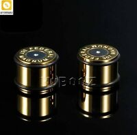 Gauges Earrings Piercing Plugs Tunnels Stretched Stainless Steel Fashion Body