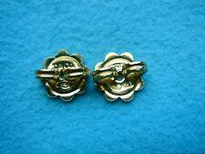 HEAVY TIFFANY & CO 18K YELLOW GOLD  EARRING BACKS 6.77MM