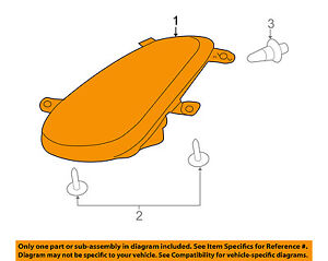 Pontiac GM OEM 06-09 Solstice-Headlight 25932032