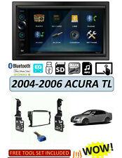 NEW 2004-2006 ACURA TL Car Stereo Kit, BLUETOOTH Digital Media Receiver DM529BT