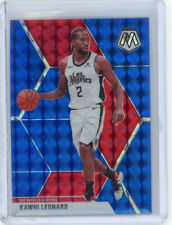 New Listing2019-20 Panini Mosaic Kawhi Leonard Blue Mosaic Prizm #99/99 Sp! La Clippers