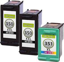 3 Cartuchos de impresora para hp350+351 c4580 c5280 d5360 c4280