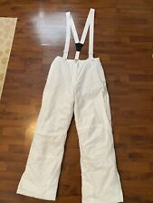 Mens Size Xl Trespass White Snow Pants Excellent