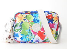 NWT Kipling Dee Crossbody Bag With Furry Monkey Picnic in the Park