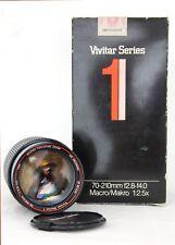 VIVITAR 70-210 F2.8-4 Serie1 per Olympus OM (manual focus analogico)