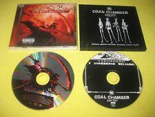 Children Of Bodom Hate Crew Deathroll & Coal Chamber Dark Days 2 CD Albums Metal