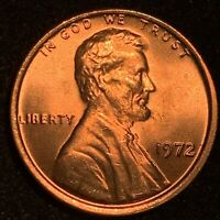1972 LINCOLN CENT DOUBLE DIE OBVERSE GORGEOUS MS RED DDO GEM * MAGNIFICENT COIN!