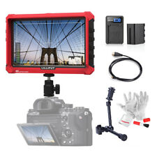 "Lilliput A7s 7"" 1920x1200 DSLR On Camera Field Monitor W/Battery+ Cable+ Arm"