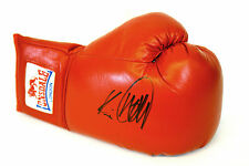 * NUOVO * Kevin Mitchell HAND SIGNED Autograph Rosso Lonsdale Boxing Glove.