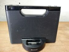 Sony Compact Speaker Dock RDP-M5iP iPod iPhone 30 Pin Connector