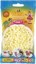 Hama 1000 Midi Bügelperlen 207-02 Creme Ø 5 mm Perlen Steckperlen Beads