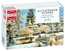Busch 7171 - Snow Powder - Landscaping Material 500g Box - Tracked 48 Post