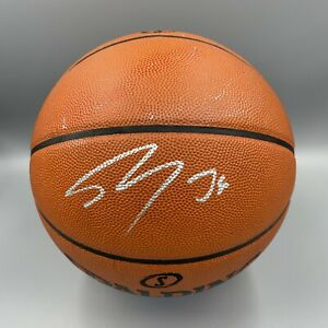 Shaquille O'Neal Signed Spalding NBA Official Game Basketball Beckett BAS Shaq