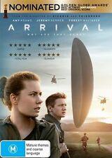 Arrival (Dvd) Drama Mystery Sci-Fi Amy Adams, Jeremy Renner, Forest Whitaker