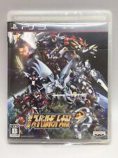 USED PS3 Super Robot Wars OG 2nd 2 Taisen Bandai namco entertainment F/S Japan