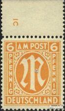 Twee zones (Allied Cast) 13 met Nummerplaat postfris 1945 aan-Post