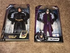 "Dark Knight: The Joker & Bruce As  Batman 12"" Figure (2008) Mattel Toys R Us"