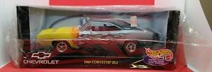 Hot Wheels '69 Dodge Charger 1st Annual Collectors 1:18 #53442 - wrong box/decal