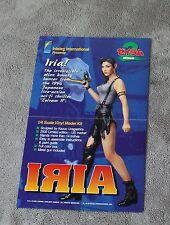 Iria 1994 Kazuo Uragashira Zeiram II Inteleg Model Kit GGA PROMO Poster EX
