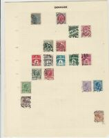 denmark stamps page ref 17111
