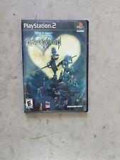 Kingdom Hearts II (PlayStation 2, 2006, ps2, complete, black label)