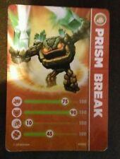 Prism Break Skylanders Spyro's Adventures Stat Card Only!