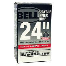 "BELL 24"" UNIVERSAL BICYCLE BIKE INNER TUBE Standard Schrader Valve x1.75-2.25"""