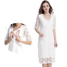 Lace Maternity Clothes Nursing Dress Breastfeeding Dresses For Pregnant Women