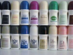 X-LARGE- BONUS SIZE -Avon Roll-on Deodorant  { MIX }  Lot of 10