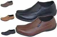 Mens Slip on Boat Deck Mocassin Walking Comfort Loafers Driving Casual Shoes