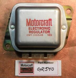 NOS! OEM Motorcraft Alternator Voltage Regulator 1968-1990 Ford D9PF-10316 GR540
