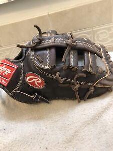 "Rawlings PROSFMMO Mocha 13"" Pro Preferred Baseball Softball First Base Mitt"