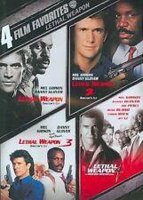 4 Film Favorites Lethal Weapon 0085391174301 DVD Region 1