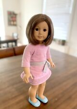 Truly Me American Girl Doll Brown Eyes Brown Short Hair Bob