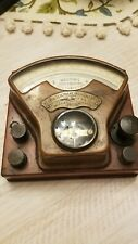 Pre-1901 Weston's Early Vintage Weston Direct-Reading Volt Meter Model 1 Early