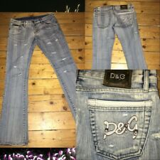 Authentic Dolce & Gabbana Jeans | light blue lil ripped | Size 28