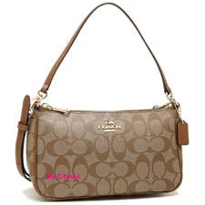 New Coach F58321 Messico Top Handle Pouch Crossbody/Shoulder Bag Purse Handbag