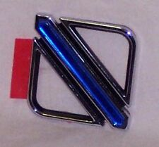 SET OF 2!!!! NEW GENUINE GM NOS BUICK REGAL EMBLEMS CHROME / SILVER & BLUE