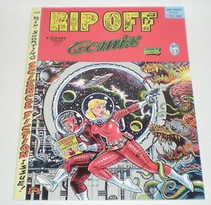 RIP OFF COMIX Issue 23 Science Fiction 1989 Underground Gilbert Shelton