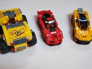 LEGO Speed Champions McLaren P1 LaFerrari Dino Raptor Car SOLD AS IS
