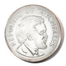 Seychelles Queen Elizabeth Ii Silver Jubilee 25 Rupees 1977 Proof Silver Km38a