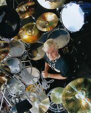 GFA Saxon Band Drummer * NIGEL GLOCKLER * Signed Autographed 8x10 Photo N2 COA