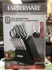 Farberware 13 Piece Edgekeeper Pro Self-Sharpening Cutlery Set